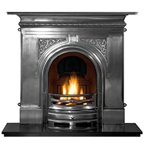 Cast Fireplaces: Discount Fires in Cast Iron, Limestone, Wood & More