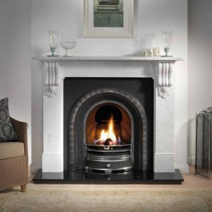 Henley and Kingston Marble Fireplace-0