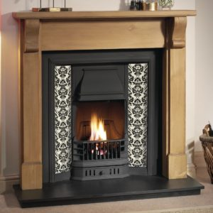 Prince and Pine Bedford Wooden Fireplace-0