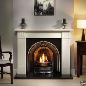Landsdowne and Clarendon Limestone Fireplace-0