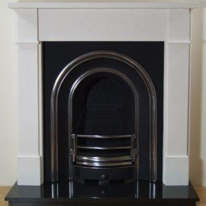 Monarch and Brompton Limestone Fireplace-0