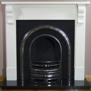 Lytton and Corbel Limestone Fireplace-0
