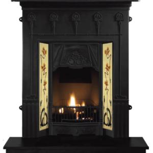 Amsterdam Cast Iron Fireplace-0