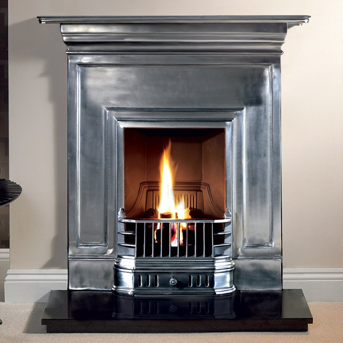 Barcelona Cast Iron Fireplace, How To Clean Iron Fireplace Surround