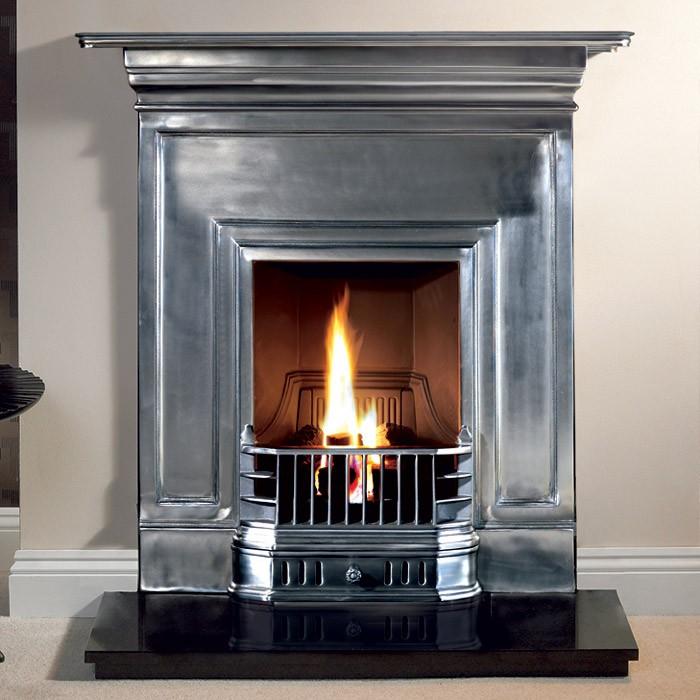 Barcelona Combination Cast Iron Fireplace-2355