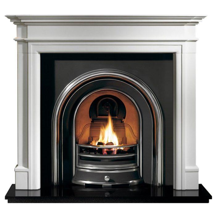 Jubilee and Bartello Limestone Fireplace-0