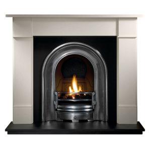 Coronet and Brompton Limestone Fireplace-0