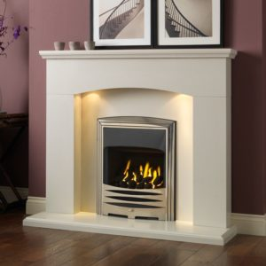 "Cartmel 48"" Modern Fireplaces Suite-0"