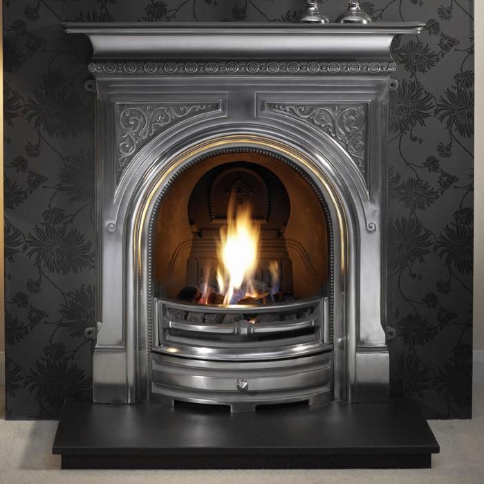 Celtic Cast Iron Fireplace-2334