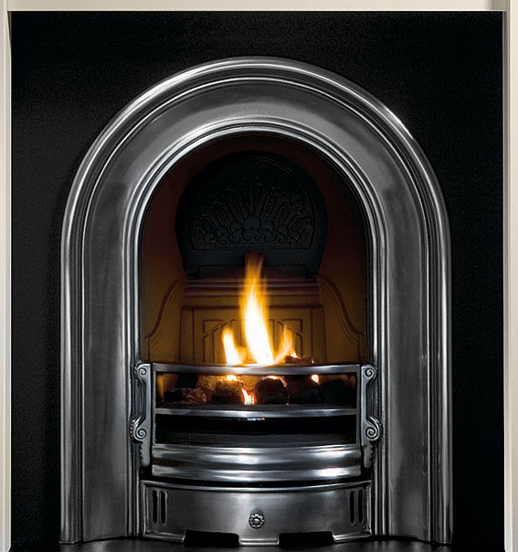 Coronet Cast Iron Fireplace-0