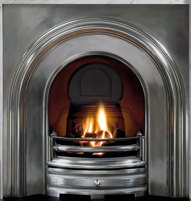 Crown Cast Iron Fireplace-2386