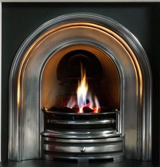Crown Cast Iron Fireplace-2387