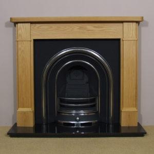 Jubilee and Oak Brompton Wooden Fireplace-0