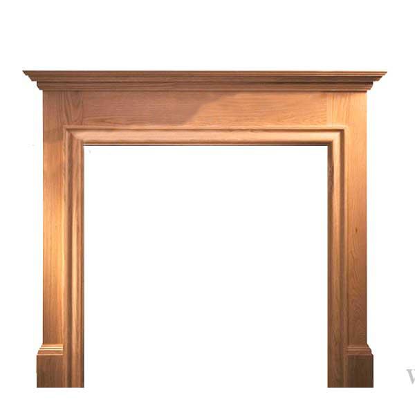 Howard Oak Wooden Surround-0