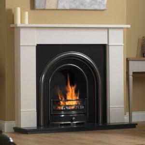 Jubilee and Brompton Limestone Fireplace-0