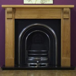 Jubilee and Oak Bedford Wooden Fireplace-0