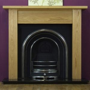 Jubilee and Oak Lincoln Wooden Fireplace-0