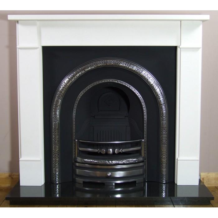 Lytton and Brompton Limestone Fireplace-2403