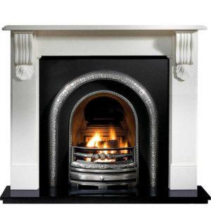 Lytton and Kingston Limestone Fireplace-0