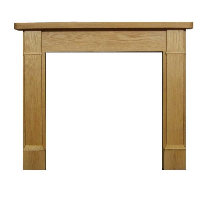 Brompton Oak Wooden Surround-0