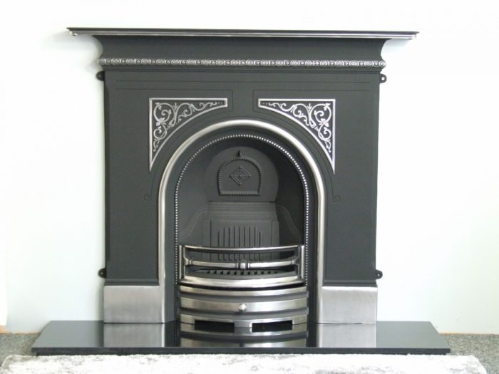 Pembroke Combination Cast Iron Fireplace-4133