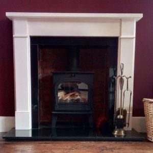Lovenholm and Brompton Limestone Stove Suite-0