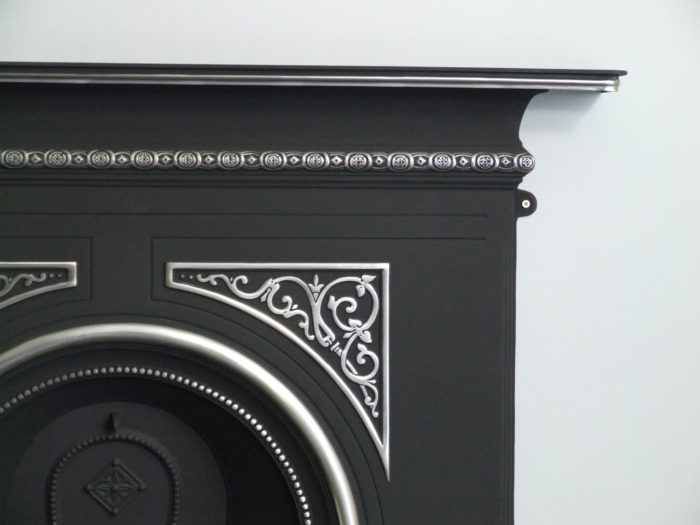 Pembroke Highlighted Cast Iron Fireplace-3585