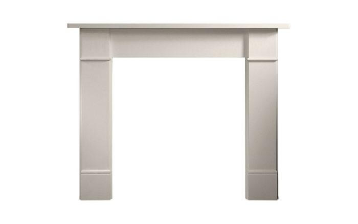 Hamlet Solution 5 Widescreen Stove Suite Brompton Limestone Mantel-4592