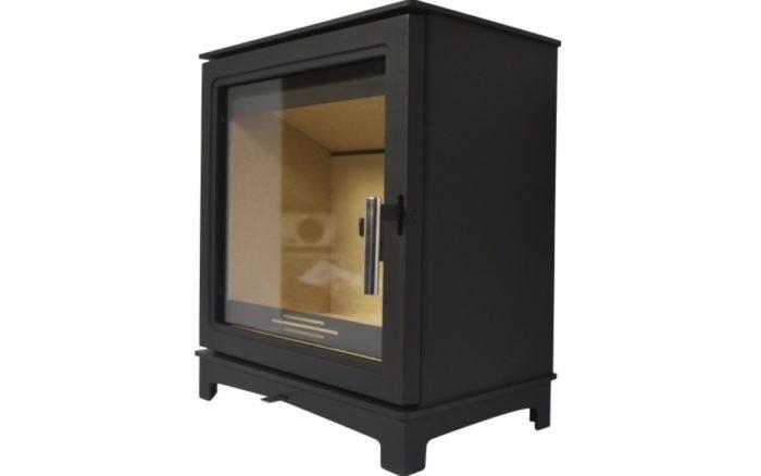 Grisedale Wood Burning Stove Suite Brompton Limestone Mantel-4590